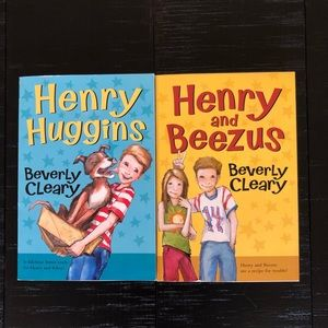 Beverly Cleary- Henry book set (2)